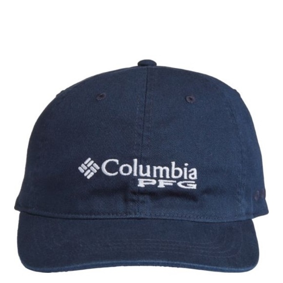 Columbia PFG Bonehead Navy Ballcap 5787bd983bb